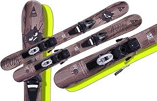 GASPO Snowblades Woody 99cm + Tyrolia Sicherheitsbindung Sai