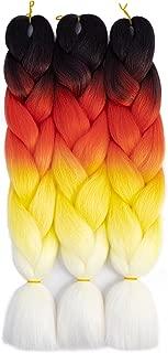 Best fire ombre braiding hair Reviews