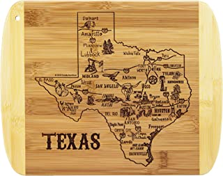 Totally Bamboo A Slice of Life Texas Bamboo Serving and Cutting Board