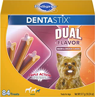Pedigree Dentastix Dental Treats for Dogs Variety of Flavors - Toy/Small (5-20 lb)
