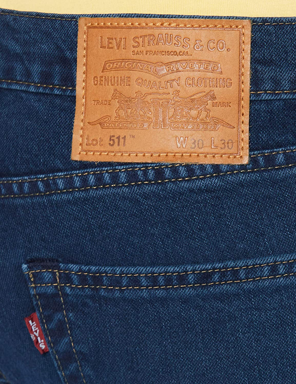 Levi's 511 Slim Jeans Homme Manilla Leaves Adapt