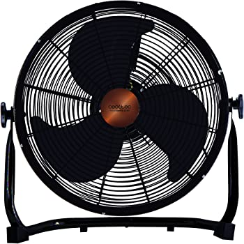 Orbegozo PW 1332 Ventilador industrial Power Fan, 3 velocidadesaspas metálicas, inclinación regulable, asa de transporte, rejilla de seguridad, 45 W de potencia, 50 W, metal: Amazon.es: Hogar