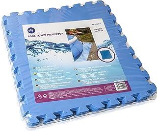 comprar comparacion Gre MPF509 - Protector de Suelo para Piscina, 9 piezas, Color Azul, 4,5 mm de Grosor