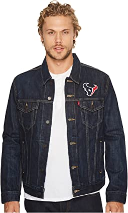Texans Sports Denim Trucker