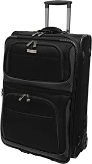 Traveler's Choice Conventional II Expandable Rugged Rollaboard Luggage