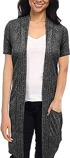 Best short sleeve open front sweater Reviews
