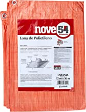 Lona De Polietileno Laranja 12 M X 10 M Nove54 Nove 54