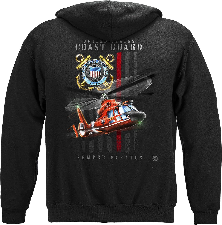 Coast Guard Max 58% OFF Patriotic T-Shirt Flag Max 59% OFF MM2447