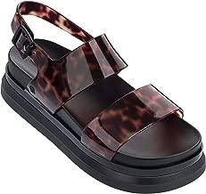 Melissa Shoes Women's Cosmic Sandal II Black/Tortoise