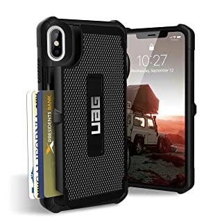 URBAN ARMOR GEAR UAG iPhone Xs Max [6.5-inch Screen] Trooper Feather-Light Rugged [Black] Military Drop Tested iPhone Case