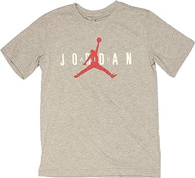 Nike Camiseta Jordan para niño, gris