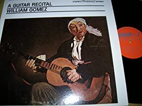 A GUITAR RECITAL - vinyl lp. SOR: MINUET NO. 9 IN G - SOR: MINUET NO. 25 IN G - TARREGA: ALBORADA