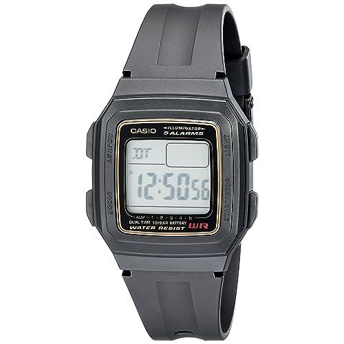 Casio Mens F201WA-9A Multi-Function Alarm Sports Watch