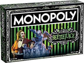 Monopoly Beetlejuice Board Game | Based on The 80's Fantasy Film Beetlejuice | Officially Licensed Beetlejuice Merchandise...