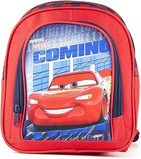 Mochila roja de la Escuela de Disney Pixar Cars Rayo Mcqueen Niños