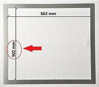 Marco adaptador de acero inoxidable para placas de cocina (502 x 562 mm)