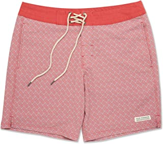 Fair Harbor Men's Board Shorts - Made from 11 Plastic Bottles Eco Beach Shorts - Quick Dry Bathing Suit for Men