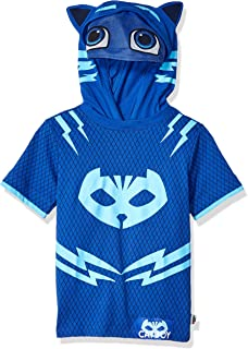Boys' Little S/S Catboy Hoodie W/Mask