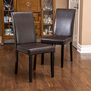 Christopher Knight Home Ryan Dining Chair, Brown