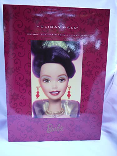 Barbie Holiday Ball Porcelain Doll (1997)