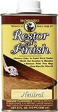 Howard Products RF1008 Restor-A-Finish, 8 oz, Neutral