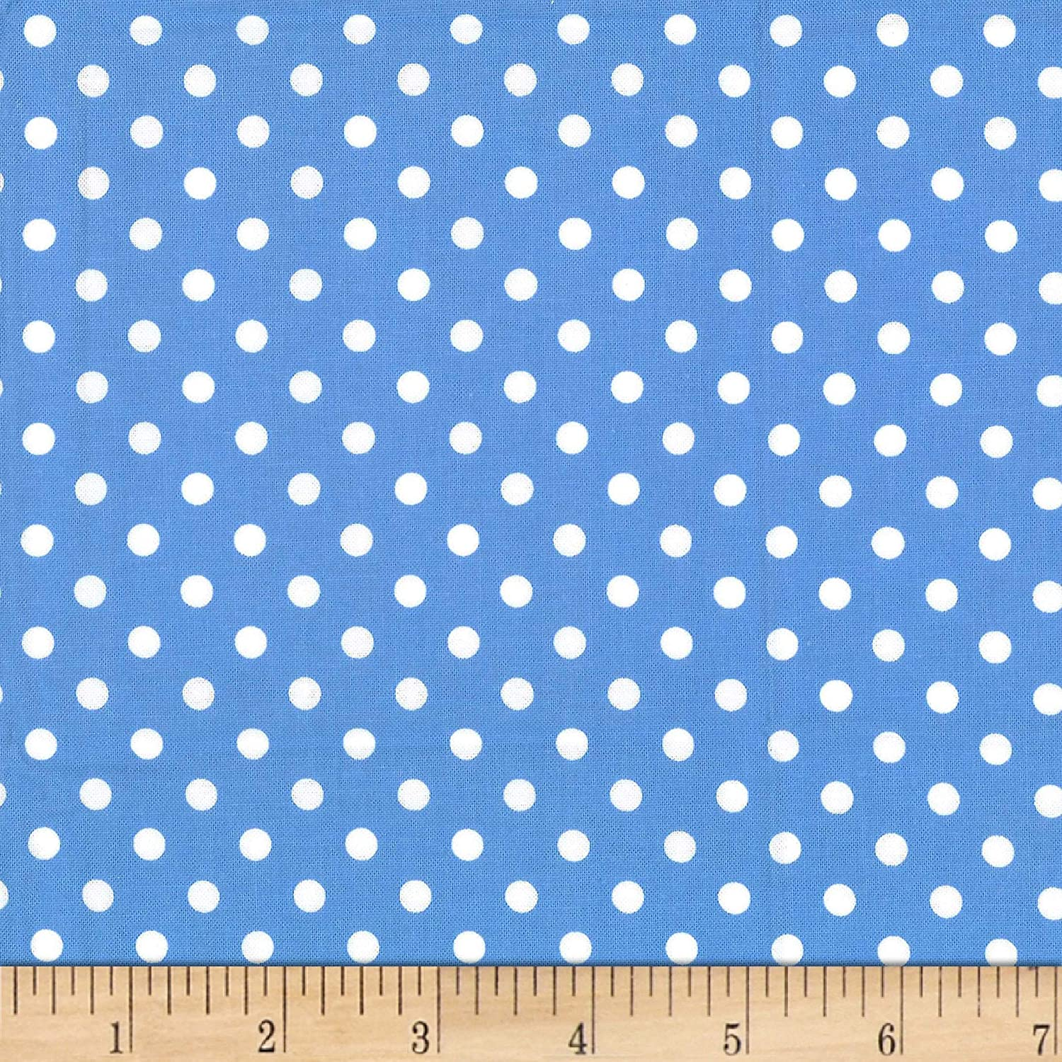 CX2490-SNDP-D 100/% Cotton Michael Miller Fabrics Dumb Dot White on White Fabric By The Yard