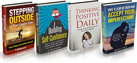 """Mindset: 4 Manuscripts - """"Stepping Outside of Your Comfort Zone"""", """"Building Self-Confidence, """"Thinking Positive Daily"""", """"A..."""