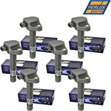 New Ignition Coil Herko B214 Set of 6