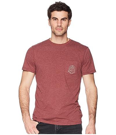 Mountain Hardwear 3 Peakstm Short Sleeve Pocket Tee (Heather Smith Rock) Men