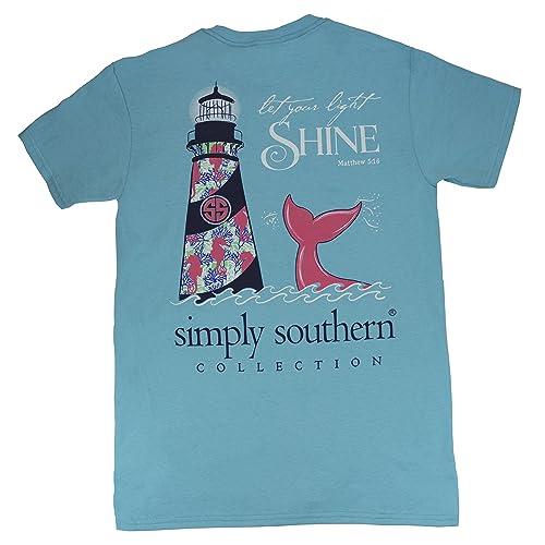 be359ddda69188 Simply Southern Tees Preppy Shine Pool Shirt