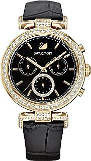 SWAROVSKI Women's Era Journey Swiss Made Quartz Watch with Leather Band Collection