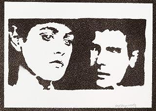 Poster Blade Runner Rachael e Rick Handmade Graffiti Street Art - Artwork