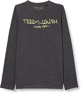 Teddy Smith Ticlass3 - T-shirt - Imprimé - Col ras du cou - Manches longues - Garçon