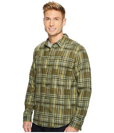 Cargo manga larga de Camisa Verde Stratford Prana TP7qUx8w6