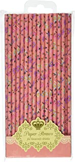 Talking Tables Truly Scrumptious Floral Straw 30 Pieces