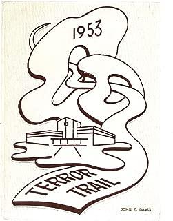 1953 Terror Trail Colorado Springs High School Colorado Yearbook