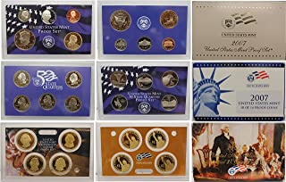 2007 U.S. Mint Proof Set Original Government Package