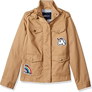 Girls' Cotton Twill Jacket with Patches