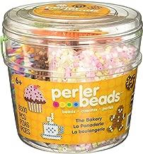Perler Bakery Fuse Bead Bucket Craft Activity Kit, 8504 pcs