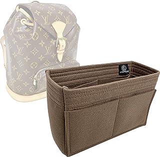 792245eee5 Zoomoni LV Montsouris MM Backpack (Old Model) Purse Insert Organizer - Premium  Felt (
