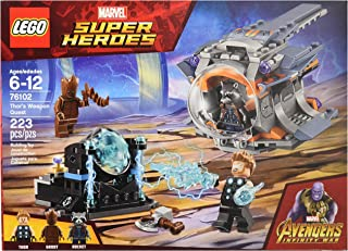 Lego Super Heroes Thor's Weapon Quest 76102 Building Kit (223 Piece)