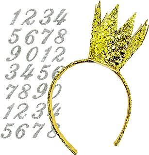 Best gold crown headband Reviews