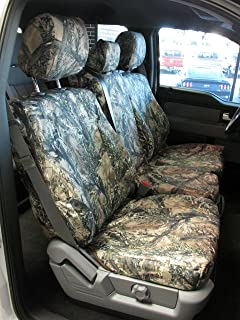 Durafit Seat Covers, F480-XD3-C- Ford F150-F550 XLT and Lariat 40/20/40 Split Seat with Opening Center Console in XD3 Camo Endura