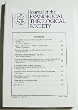 Journal of the Evangelical Theological Society (Volume 41 Number 2, June 1998)