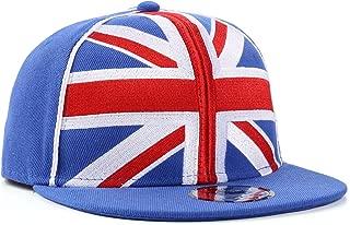 Underground Kulture Great Britain Union Jack Blue Snapback Baseball Cap