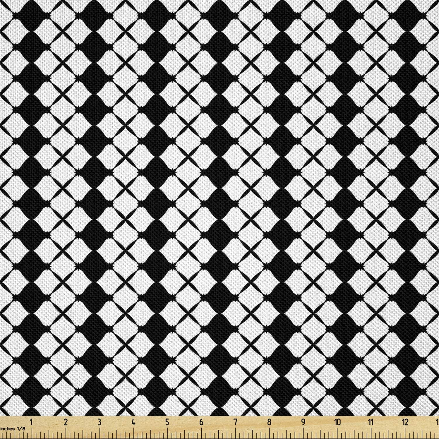 Ambesonne Abstract Geometry Fabric by The Monochrome Virginia Beach Mall Yard Max 56% OFF Style
