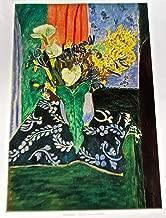Henri Matisse Calla Lilies Irises and Mimosas Poster 14x11 Offset Lithograph