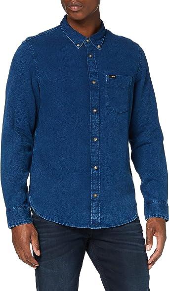 Lee Refined Button Down Camisa para Hombre: Amazon.es: Ropa