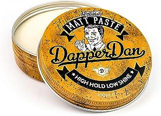 Dapper Dan Matt Paste, High Hold Low Shine, Hair Styles, 1 x 100 ml