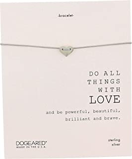 Dogeared no-Metal-Stamp (Fashion only) Sterling-Silver NA